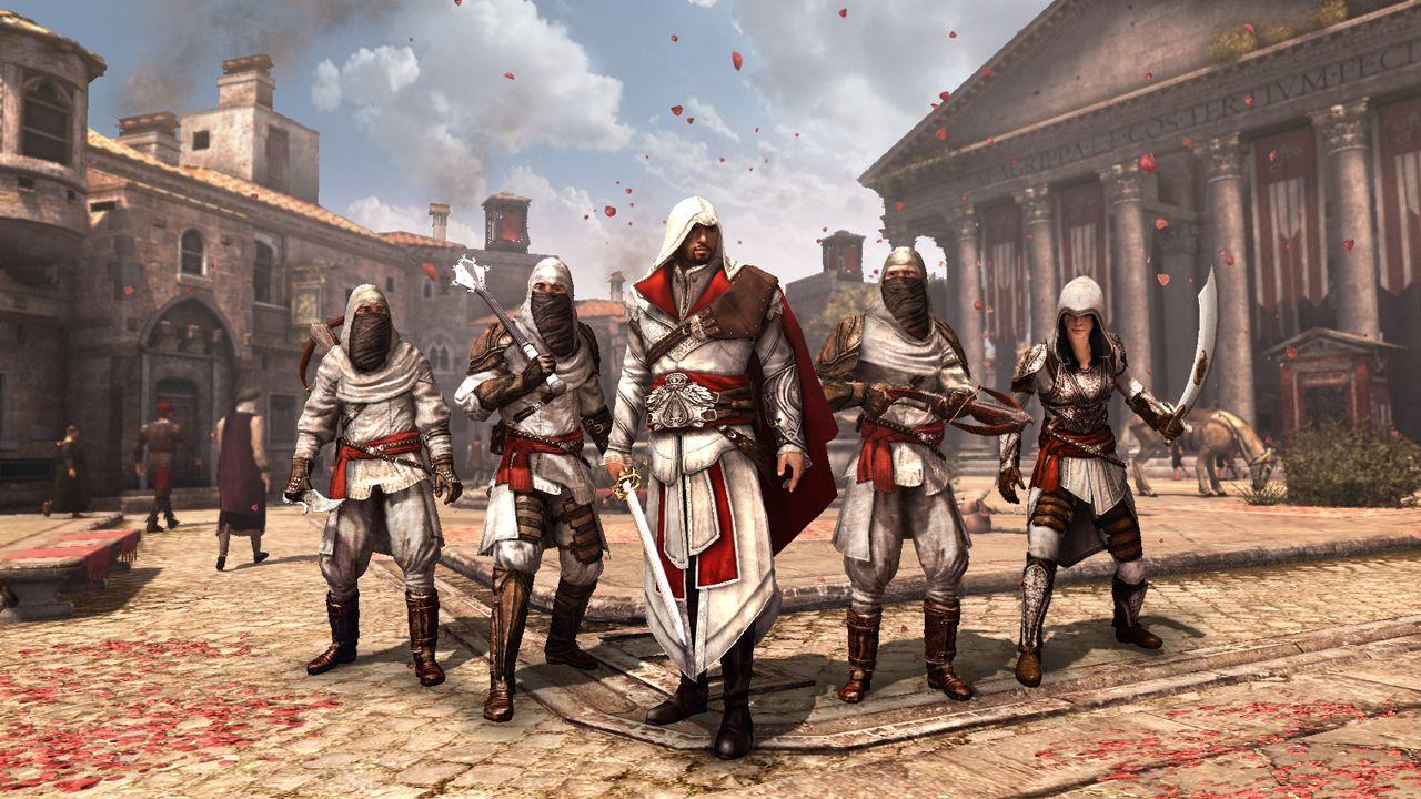 Du DLC gratuit pour Assassin Creed Brotherhood