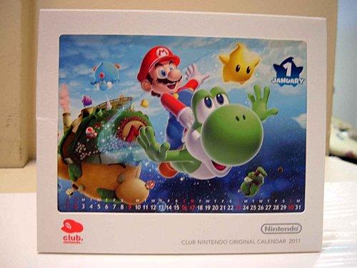Calendrier Club Nintendo