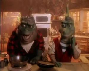 La famille Dinosaures