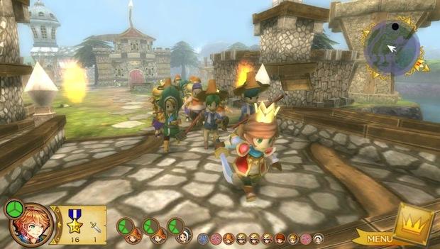Little King Story : Jouer au petit roi sur PS Vita