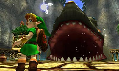 Une date de sortie pour Zelda Ocarina of Time 3D