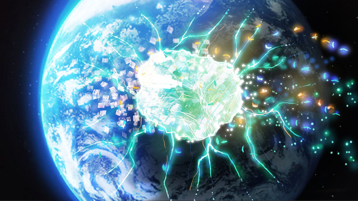 Un trailer de Child of Eden en mode Kinect