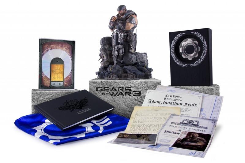 Gears of War 3 : c'est collector !