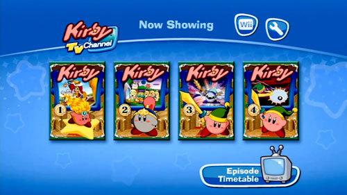 Kirby TV : une nouvelle chaîne sur la Wii