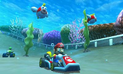 E3 : Des images de Mario Kart 3DS