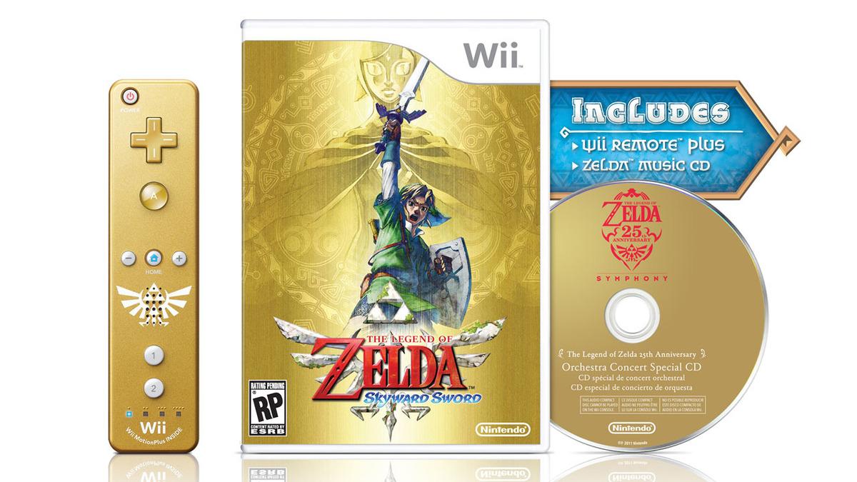 Un collector pour Zelda : Skyward Sword