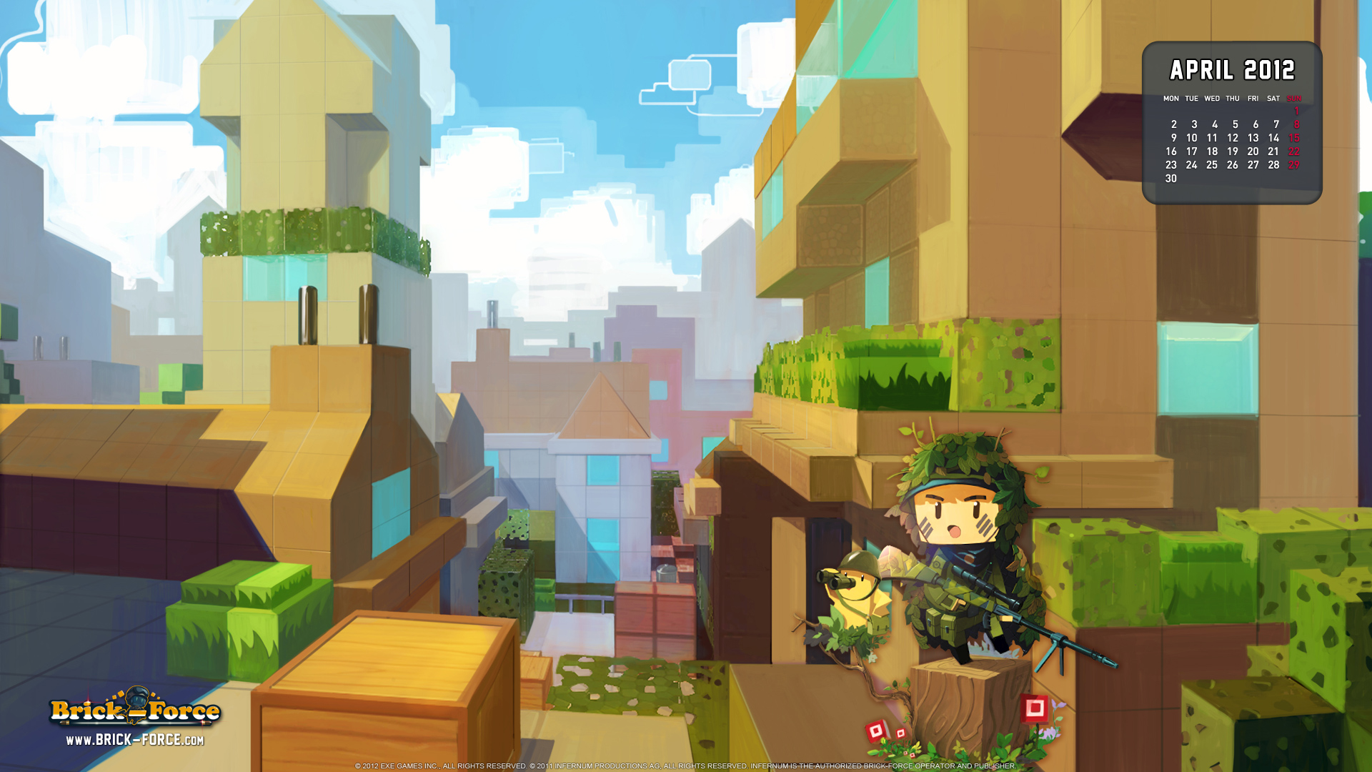 Mes impression : Brick-Force, le Free to play catastrophique ?
