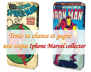 [Concours] Gagne une coque iPhone édition Marvel collector