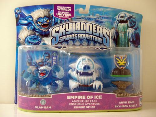 Skylanders : Spyro's Adventure Pack Aventure Empire of Ice