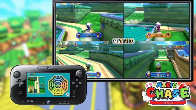 Nintendo Wii U Mario Chase