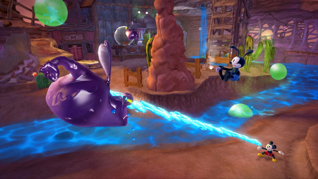 Epic Mickey 2 – Reconstruction de Wasteland