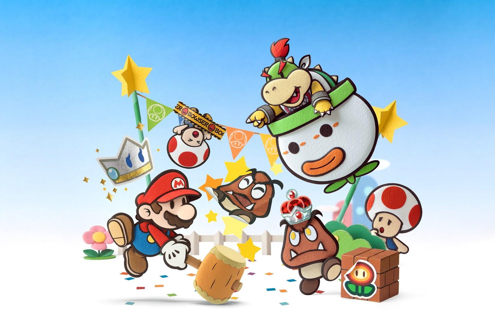 Test – Paper Mario : Sticker Star