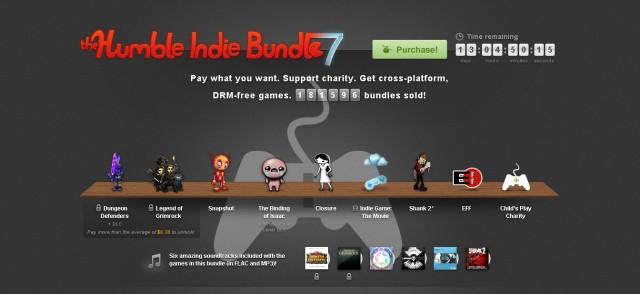 the Humble Indie Bundle 7