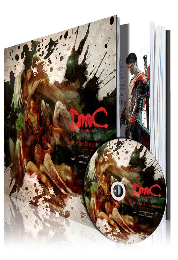 Un ouvrage Devil May Cry collector en précommande chez Pix'n Love