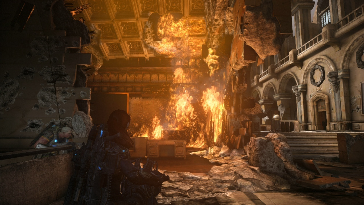 Gears of War 3 : Les Easter Eggs