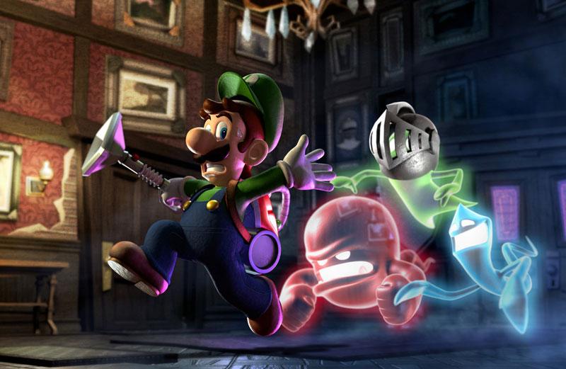 Test – Luigi's Mansion : Dark Moon