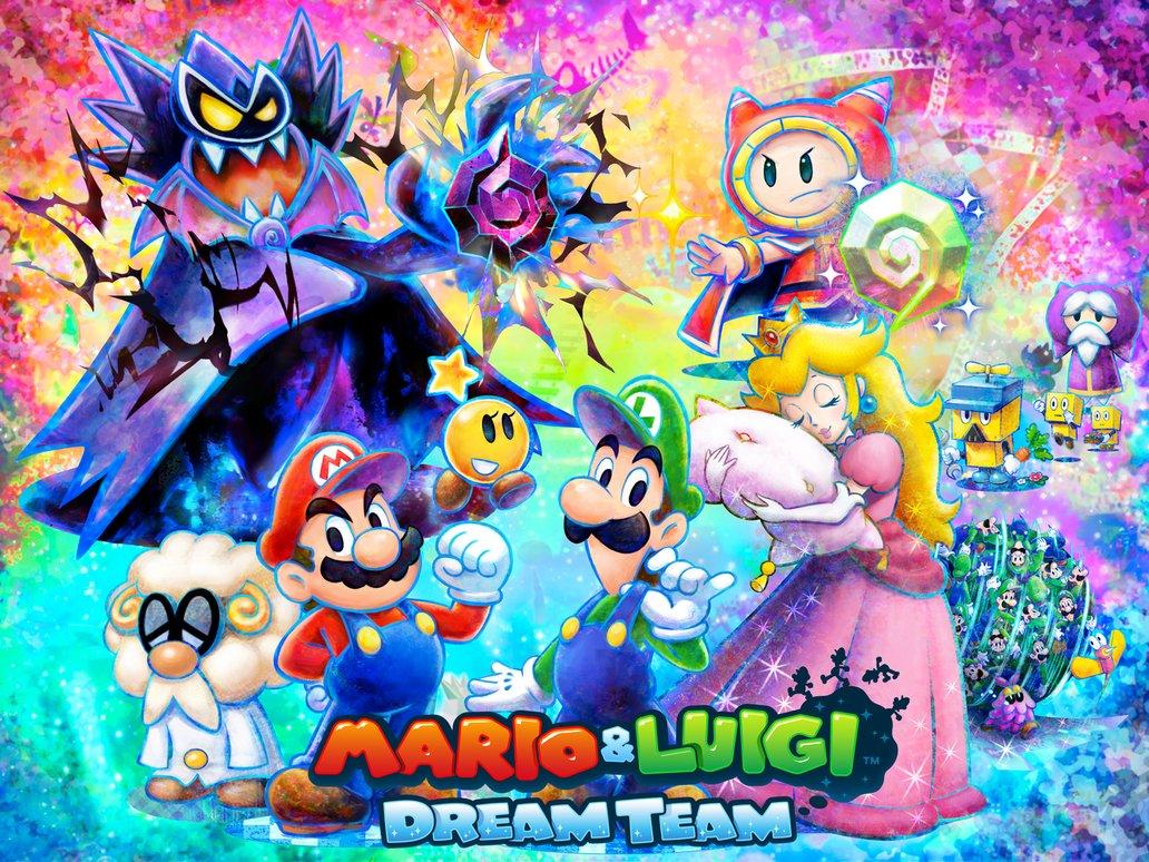 Test – Mario and Luigi : Dream Team Bros