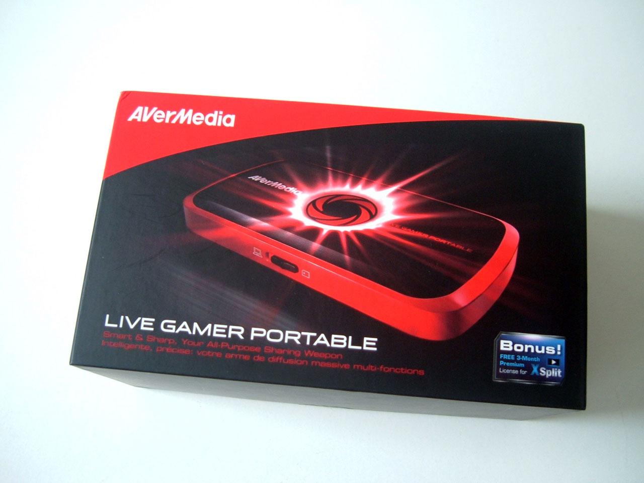 Mon avis sur le Live Gamer Portable d'AverMédia