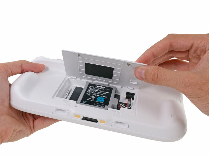Une meilleure autonomie pour le Wii U GamePad
