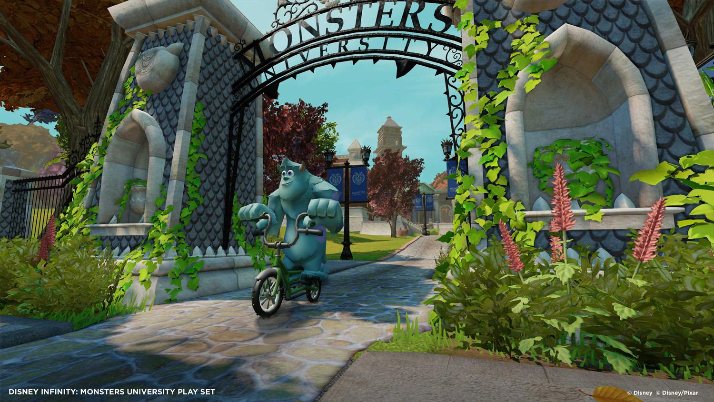 Disney Infinity accueil l'Université de Monstres