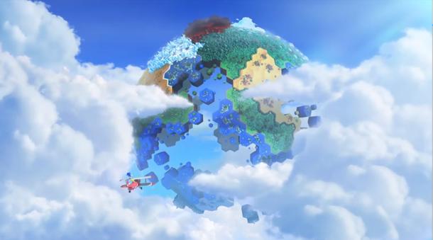 Sega tease une image pour Sonic Lost World