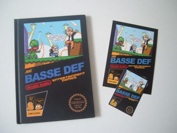 Bass Def Omake books