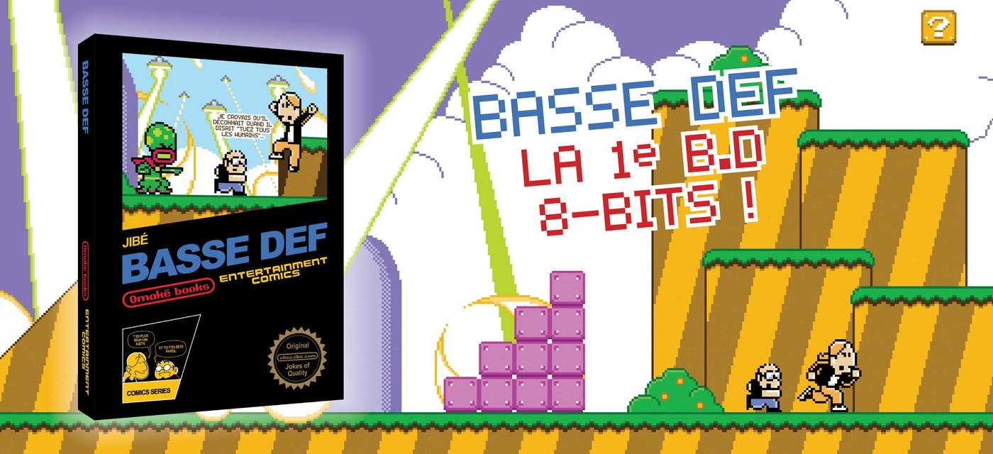 Découverte de Basse Def, une bande-dessinée haut en pixels