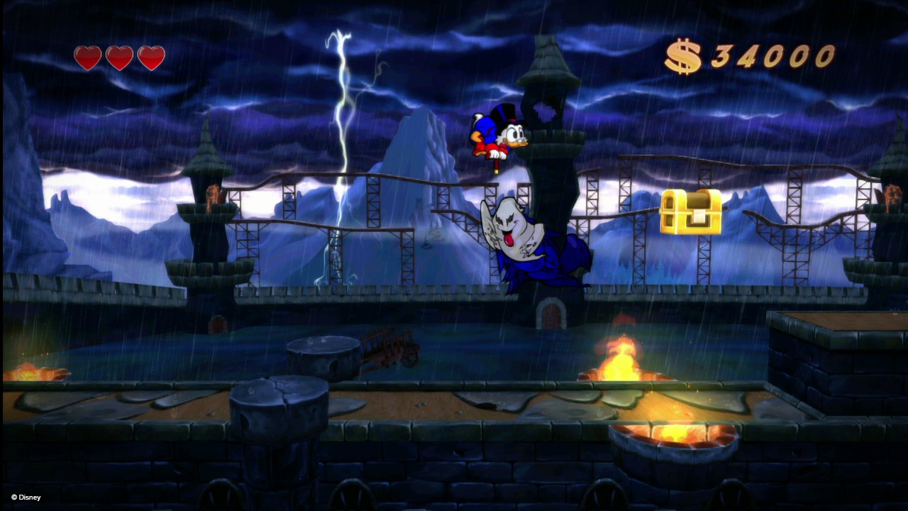 Duck Tales Remastered : voyage dans les mines africaines