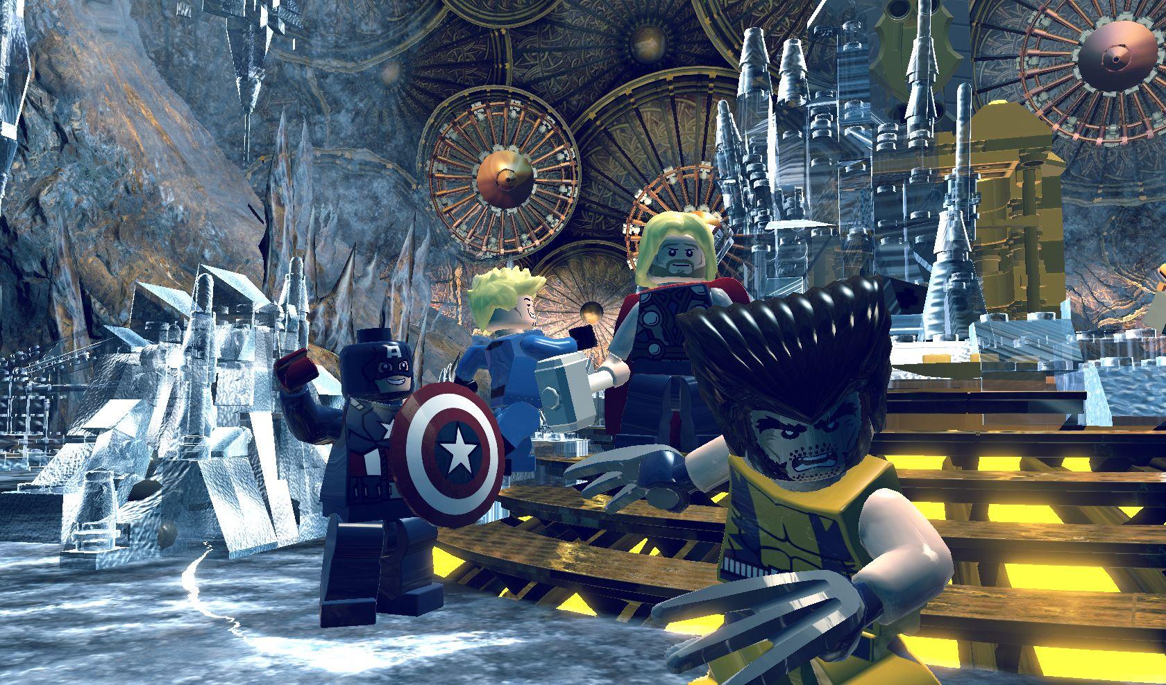 LEGO Marvel Super Heroes : une bande-annonce pour la Gamescom