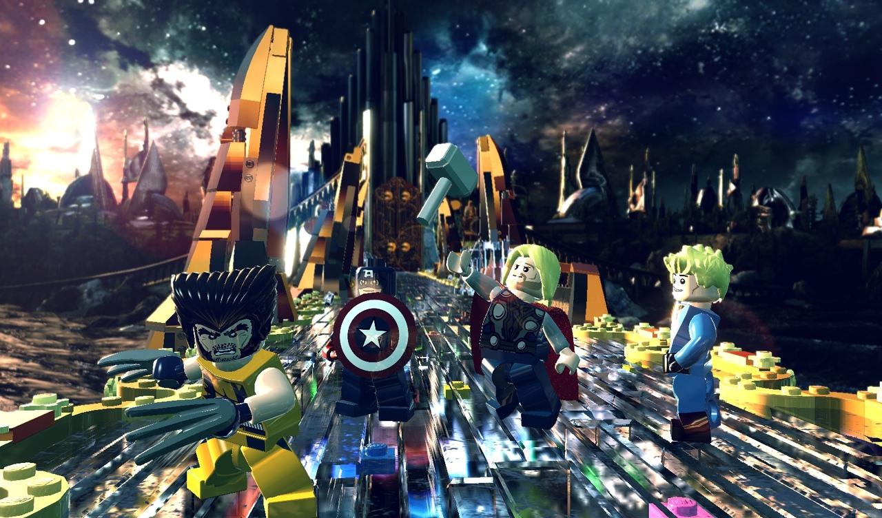 LEGO Marvel Super Heroes également sur next-gen
