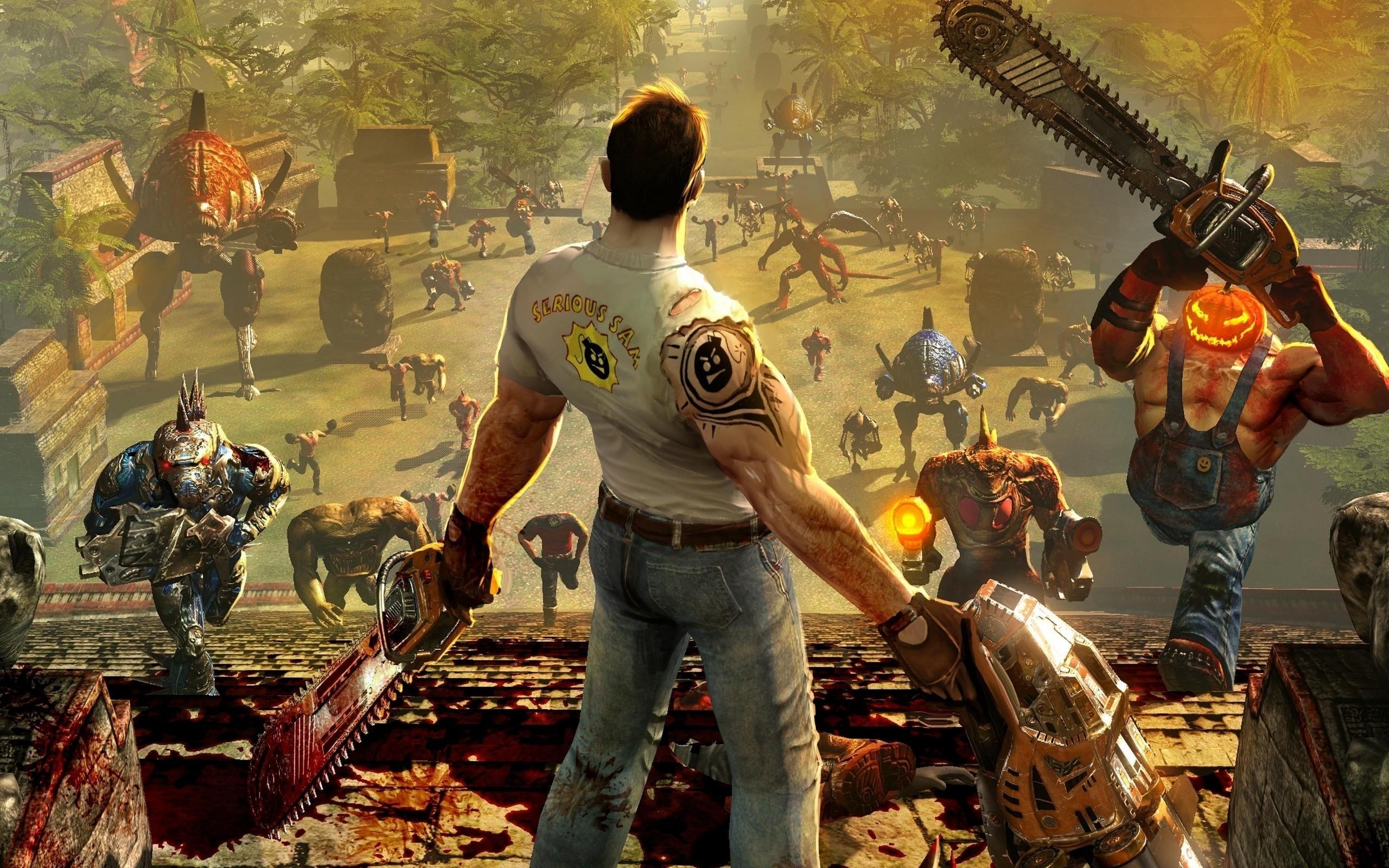 Serious Sam Collection bientôt sur Xbox 360
