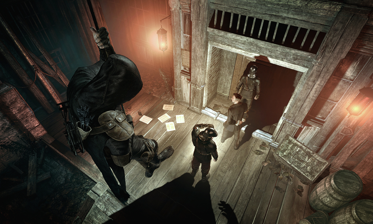 Un peu de gameplay pour Thief