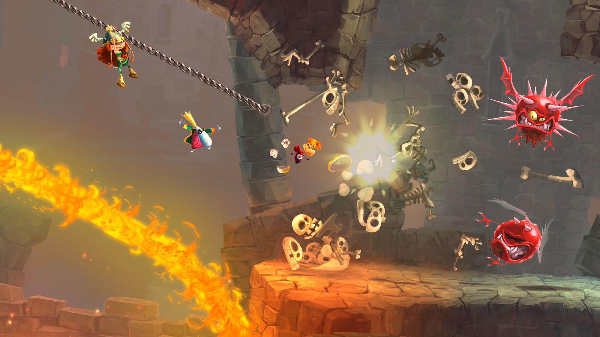 Rayman Legends : une bande-annonce pour son lancement