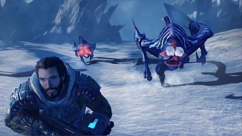 Une bande-annonce frigorifiante pour Lost Planet 3