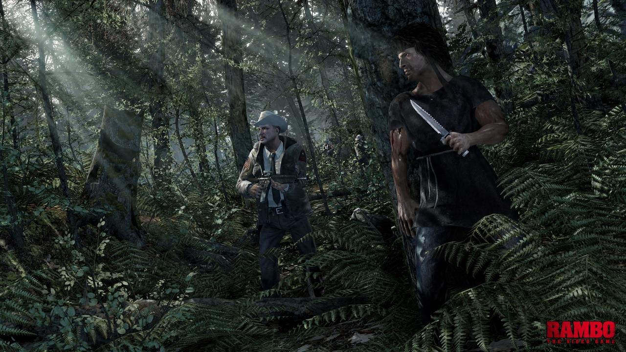 Une bande-annonce pour Rambo, en tout cas cela y ressemble