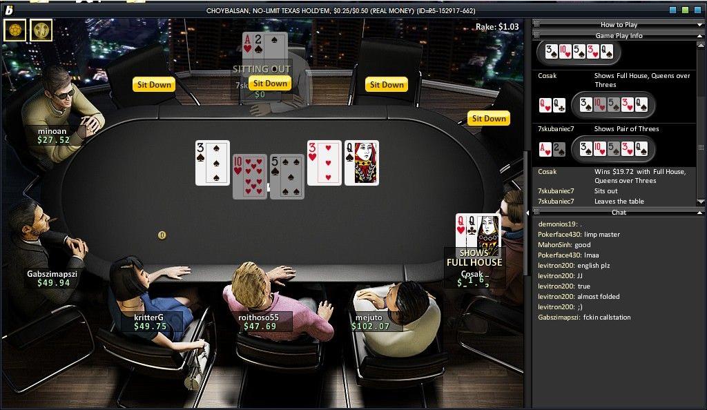 Free Bwin Poker Online