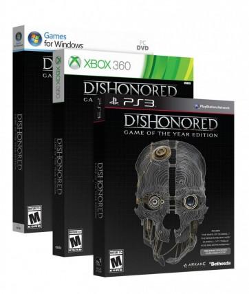 GOTY Dishonored