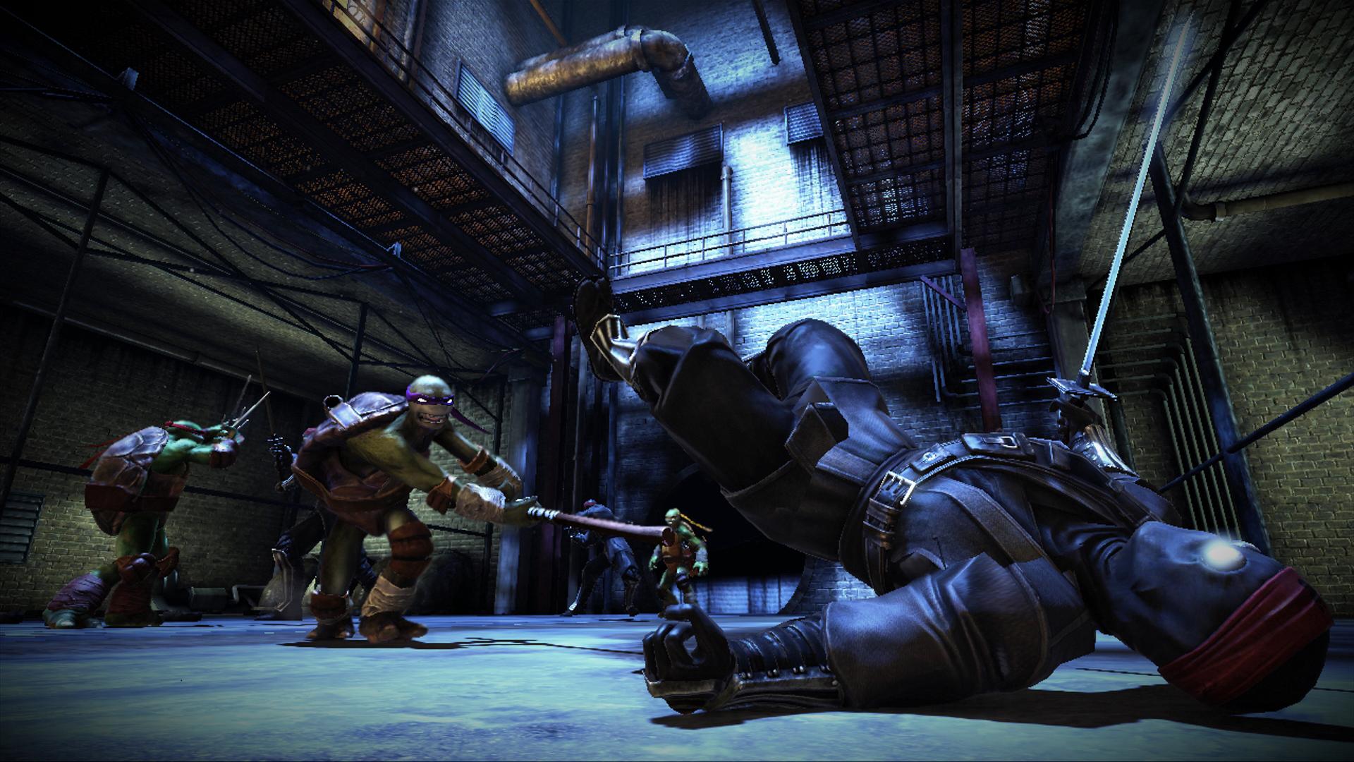 TMNT : Depuis les Ombres, une vidéo de gameplay rassurante