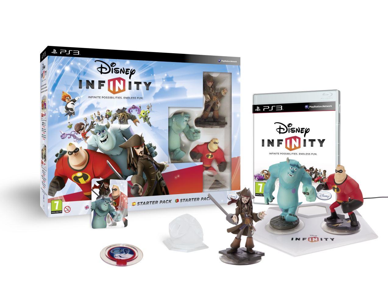 Concours : Gagner un Starter Pack Disney Infinity et une figurine