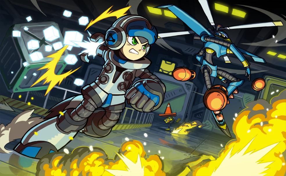 Mighty n°9 : le clone de Megaman sur Kickstarter