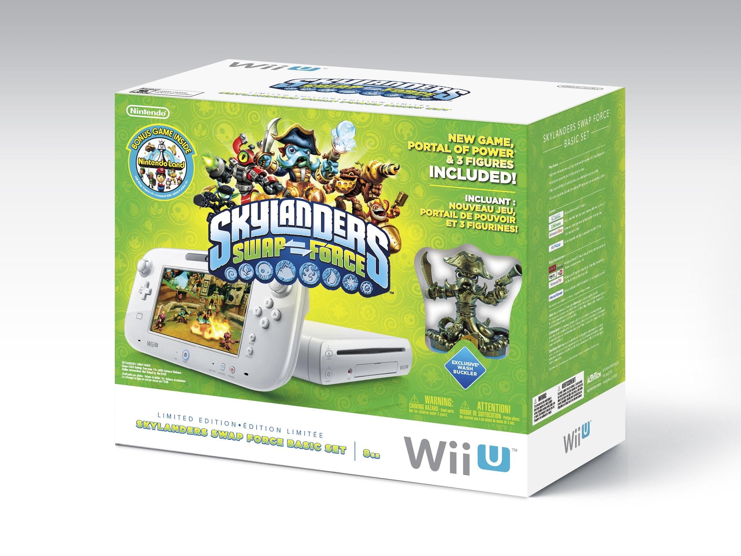 Un bundle Wii U et Skylanders SWAP Force aux USA
