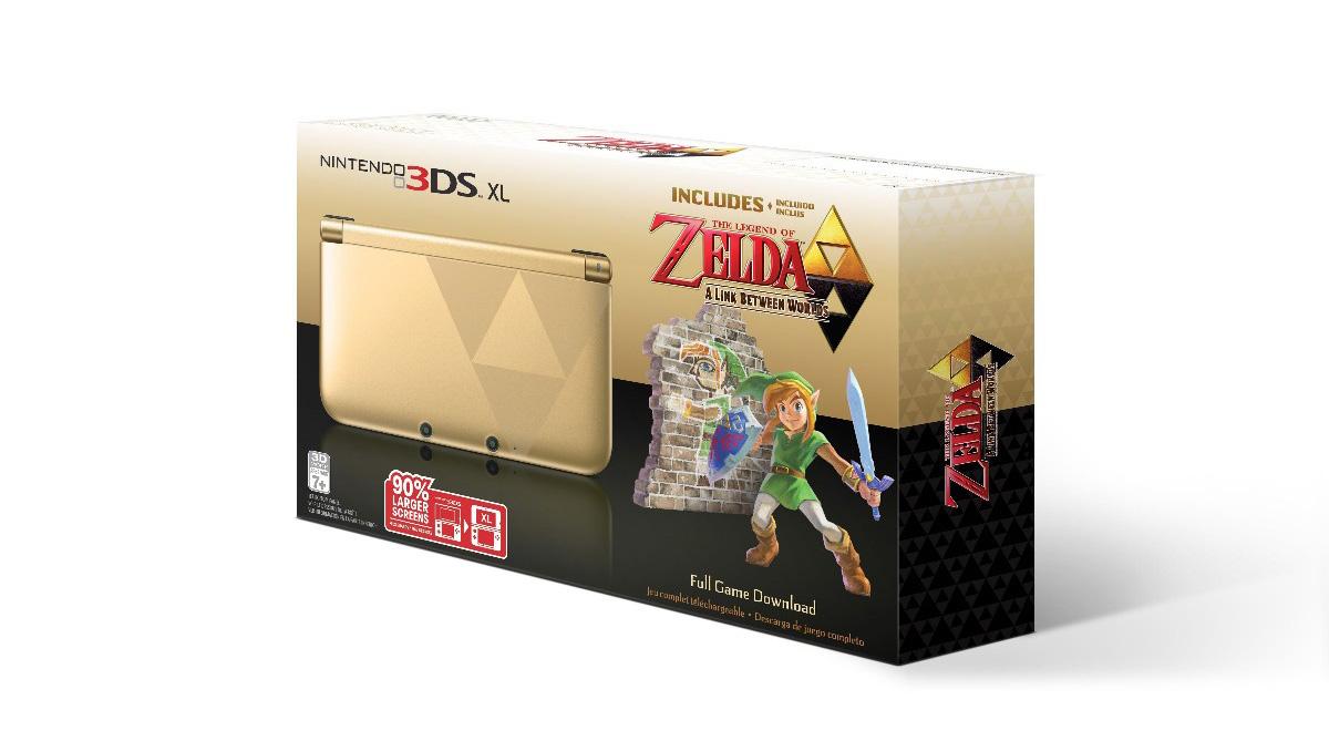 USA : La 3DS XL collector pour Zelda : A Link Between Worlds est officialisée
