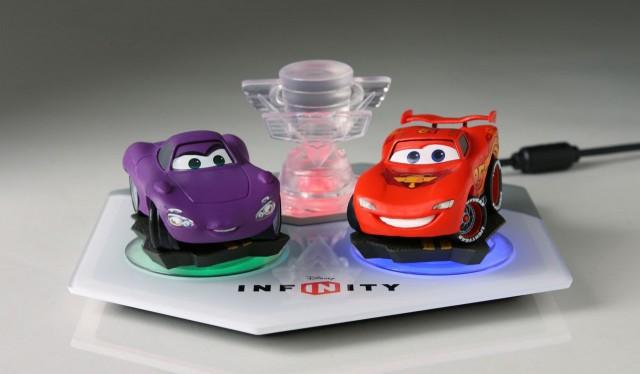 Le Play-Set Cars et le portail de Disney Infinity.