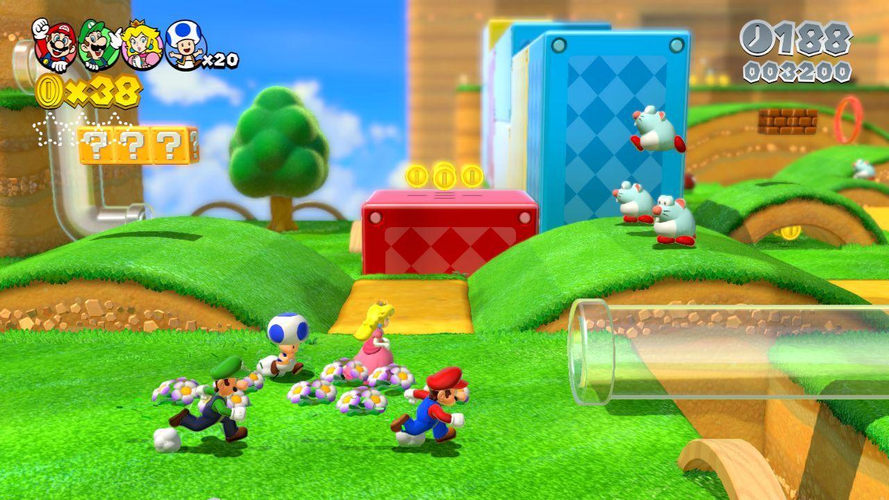 Super Mario 3D World : une longue bande-annonce qui rassure