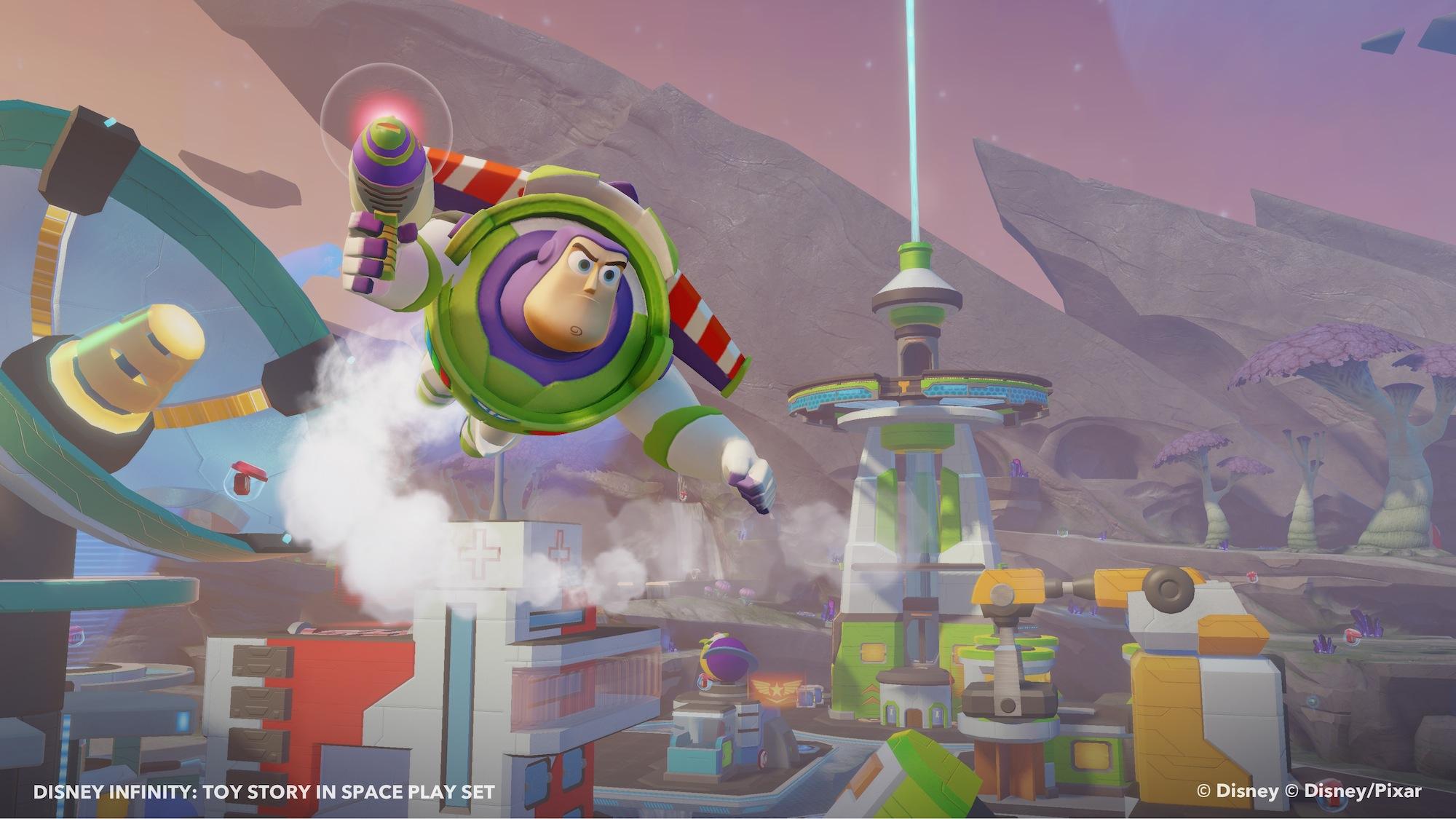 Clin d'oeil sur le play set Toy Story de Disney Infinity