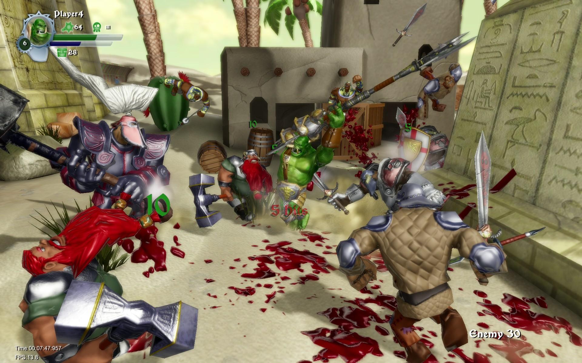 Test – Orc Attack : A Flatulent Rebellion