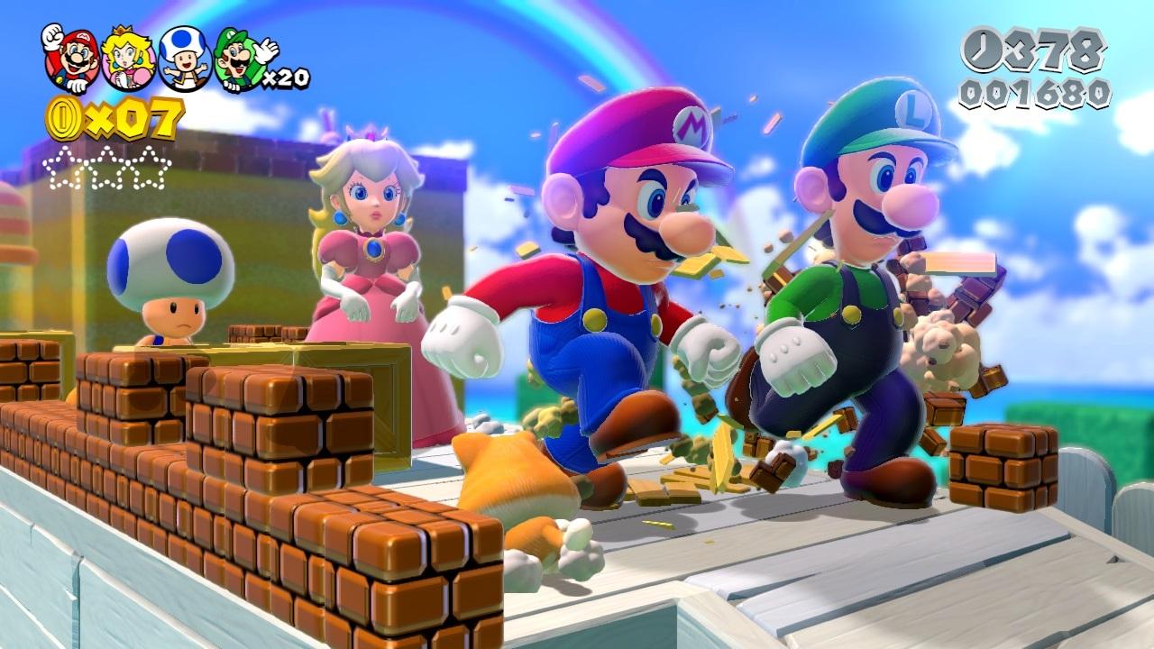 Test – Super Mario 3D World