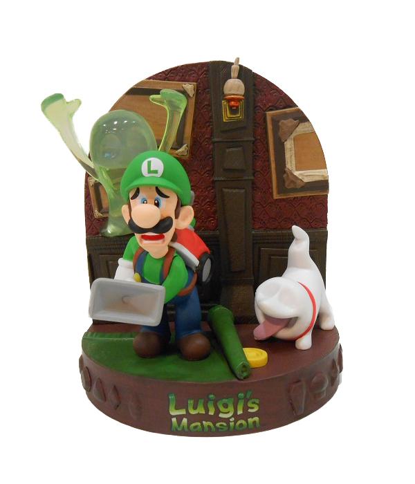 Luigi, notre chasseur de fantôme toujours aussi  froussard !