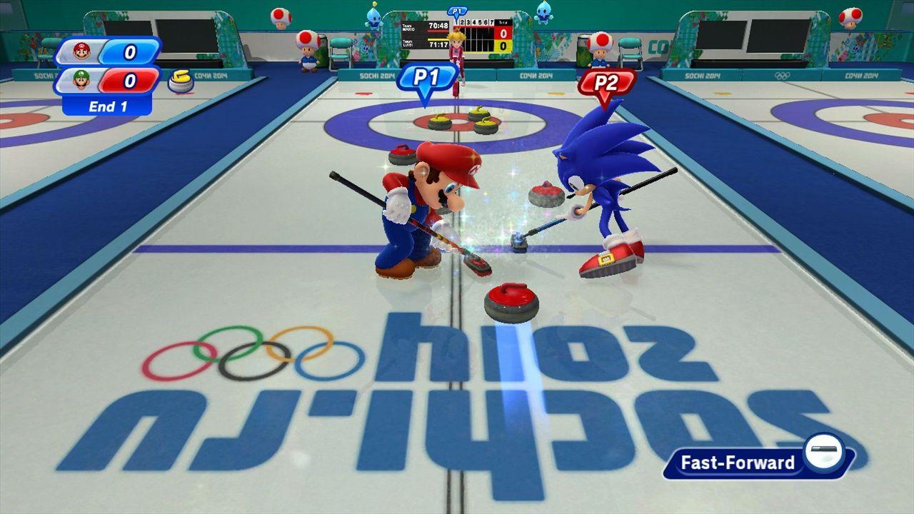 Test – Mario & Sonic aux Jeux Olympiques de Sotchi