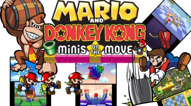 Test – Mario and Donkey Kong : Minis on the Move